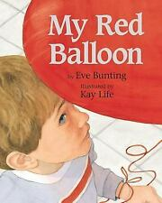 My Red Balloon by Eve Bunting (2005, Hardcover), Military Sentiment Book