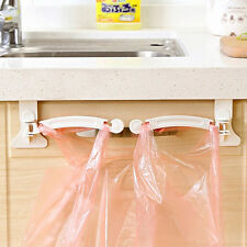 Hanging Kitchen Dining Cupboard Cabinet Tailgate Storage Garbage Bags Hooks Rack