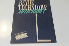 revue technique automobile n61 mai 1951  camion ford 3,5t et5t salon de geneve