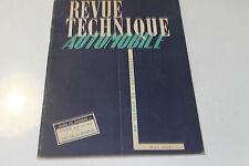 revue technique automobile n61 mai 1951  camion ford 3,5t et5t salon de geneve