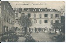 CPA 71- Chalon-sur-Saône - Pensionnat de Mlle Jolyet