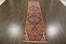 Persiano Tradizionale Lana Vintage 2 x 9.1 Oriental tappeto fatto a mano Tappeto Tappetini