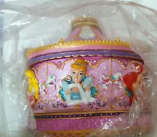 Disney Princess Carousel Musical Resin Trinket Box plays once upon a dream