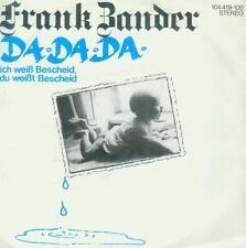 """7"""" Frank Zander/Da Da Da"""