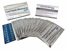Cool Teeth Whitening Zero Peroxide Strips for Sensitive Teeth and Gums Whitener
