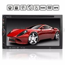 7'' 2DIN Autoradio Bluetooth Écran Tactile DVD CD MP3 MP4 MP5 FM AUX/SD/USB 12V