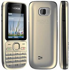 Brand New Nokia Gold C2-01 3G 3.2mp Unlocked Bluetooth Mobile 3 Months Warranty