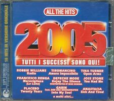 All The Hits 2005 - Depeche Mode/Placebo/Anastacia/Kravitz/The Verve Cd Nuovo