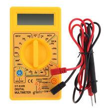 LCD Digital Voltmeter Ammeter Ohm Multimeter Volt AC DC Resistance Tester Meter