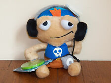 "Poptropica Cool Boy 8"" Plush Stuffed Doll Toy w/ Radio & Webcode **NEW W/ TAGS**"