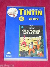 DVD N°6 Les aventures de TINTIN / On a Marché sur la Lune / TBE !!!