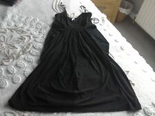 Gorgeous black size 8 party dress by Miso