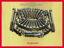 Honda ntv 650/ntv650 Revere v2a tornillos tornillos acero inoxidable tornillos del motor