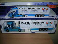 Corgi Scania T Fridge Trailer P.&C. Hamilton Transport, Girvan Limited 1:50