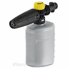 KARCHER Snow Foam Adjustable Lance For Car Valeting Cleaning Nozzle Bottle 0.6L