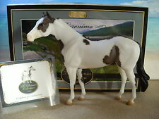 "Breyer Modellpferd Traditional ""Geronimo""Premier Collection Grullo Pinto Paint"