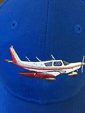 Custom Piper Cherokee PA28 Embroidered Cap with your color scheme and N# on back