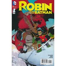 ROBIN SON OF BATMAN # 1 / GLEASON/GRAY / DC COMICS / AUG 2015 / N/M / 1ST PRINT
