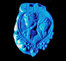 Frozen Heart Princess -Flexible Silicone Mold-Cake  Cookie Crafts Cupcake Candy