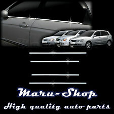 Chrome Door Window Sill Belt Line Cover Tirm for 5/04~09 Kia Spectra/Spectra5