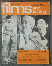 1971 JUNE FILM AND FILMING MAGAZINE MOVIES JURGEN DRAEGER CARRY ON HENRY RARE