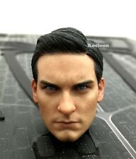 Hot Toys MMS165 Spiderman 3 Black Suit Peter Parker Head Sculpt (Tobey Maguire)