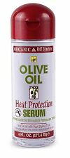 Organic Root Stimulator Olive Oil Heat Protection Serum, 6 oz