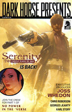 SERENITY No Power in the Verse #1 (of 6) Adam Hughes VARIANT Cover