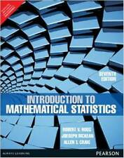 Introduction to Mathematical Statistics by Allen T. Craig, Robert V. Hogg and...
