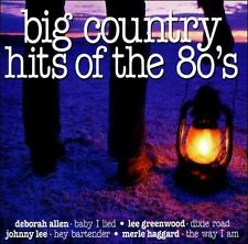 Big Country Hits of the 80's  MUSIC CD