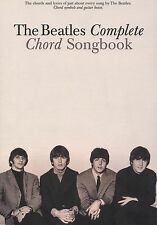 BEATLES COMPLETE GUITAR CHORD SONGBOOK 194 SONGS