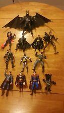 dc comics lot of 17 batman and superman action figures