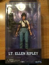 "NECA LT ELLEN RIPLEY QUEEN ATTACK ALIENS SERIES 5 2015 7"" INCH ACTION FIGURE"