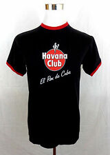 HAVANA CLUB (EL RON DE CUBA) MEN'S SHIRT SZ MEDIUM BLACK,SS