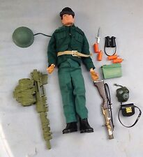 Vintage Palitoy Action Man German soldier Hasbro 1964 Original Flock Hair