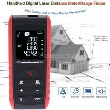 60m/196ft LCD Digital Laser Distance Meter Range Finder Area Volume Measure P2E3