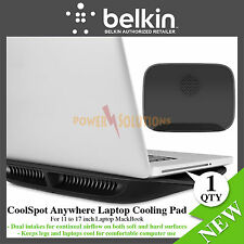 Belkin CoolSpot Anywhere Laptop Cooling Pad USB Powered  for 11 to 17 inch NEW