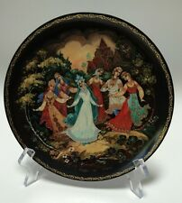 Porcelain Legend Of The Snow Maiden A Dance Of Friendship Plate #5 Russian COA