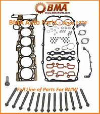 BMW E39 E46 E53 325i 330i 525i X5 Z3 HEAD GASKET SET WITH HEAD BOLTS