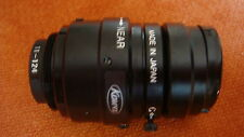 "Kowa LM8JCM 2/3"" 8mm/F1.4 Manual C-Mount CCTV Lens"