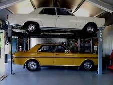 """4-Post Lift King 9"" Portable 4.0T Parking & Car Service Hoist by Hero Hoist Qld"