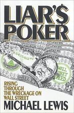 Michael Lewis~LIAR'S POKER~ 1ST/DJ~NICE COPY