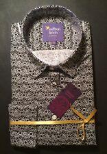 New! Womens size 14 Shirt Liberty black and white daisy paisley by Saffron Finch
