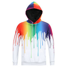 3D Graphic Print Men Women Hoodie Sweater Sweatshirt Jacket Pullover Top Jumpers