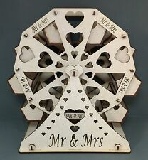 Y32 MDF MR & MRS Ferrero Rocher Ferris Wheel Sweet Table Display Wedding Parties