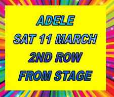 ADELE SYDNEY TICKETS - SATURDAY 11 MARCH - GUARANTEED SECOND ROW FROM STAGE