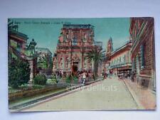 LECCE piazza Vittorio Emanuele vecchia cartolina
