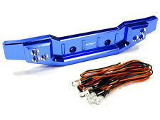 Integy Alum Billet Machined Rear Bumper with LED Lights for Traxxas 1/10 Summit
