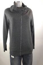 Apriori Pullover 38 grau XL Rollkragen Wolle Kaschmir jumper neu mit Etikett