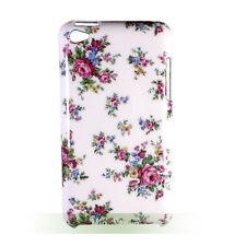 Rose Flower Hard White Case Back Cover for ipod touch 4 gen 4th generation G4 4G